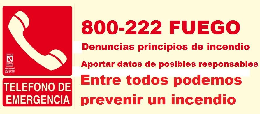 0800 222 FUEGO