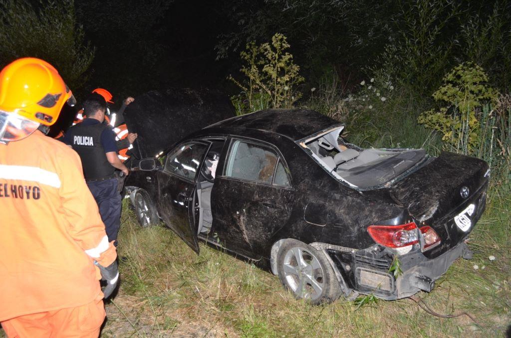 Accidente sobre ruta 40