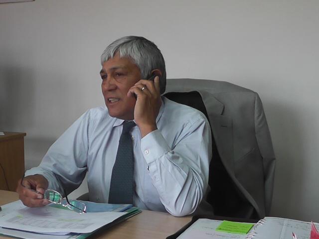 Intendente de Maiten Oscar Currilén