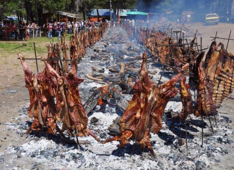 Fogón Fiesta Nacional del Asado cholila