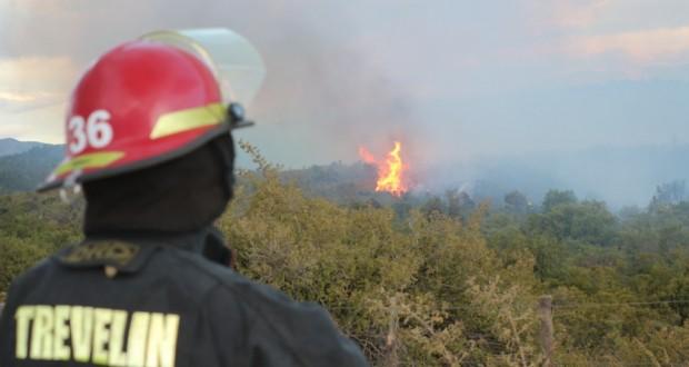 incendio zona Nant y Fall