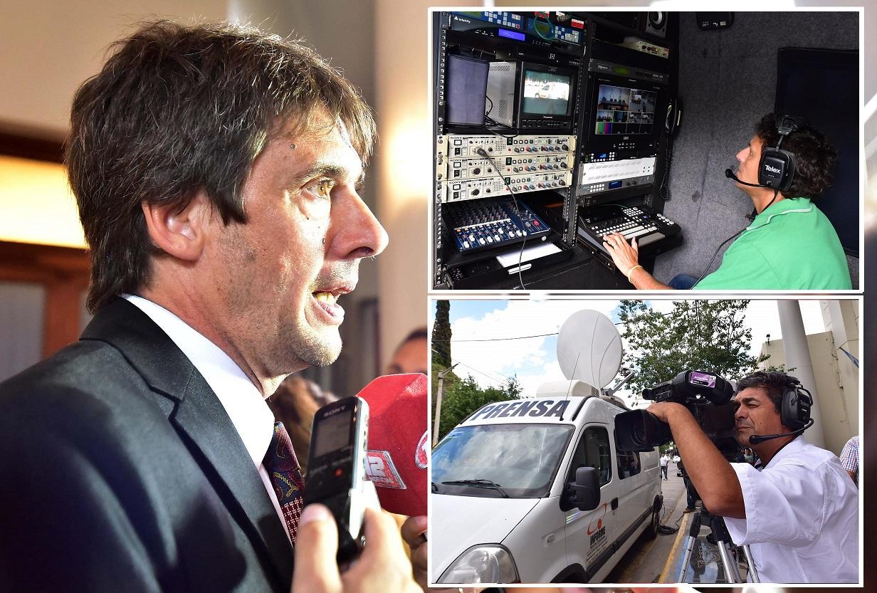 Francisco Salto Subsecretario de Información Pública de Chubut.