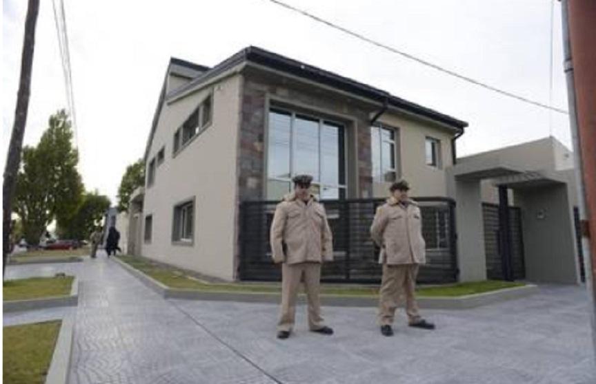 La casa de Leandro Báez.