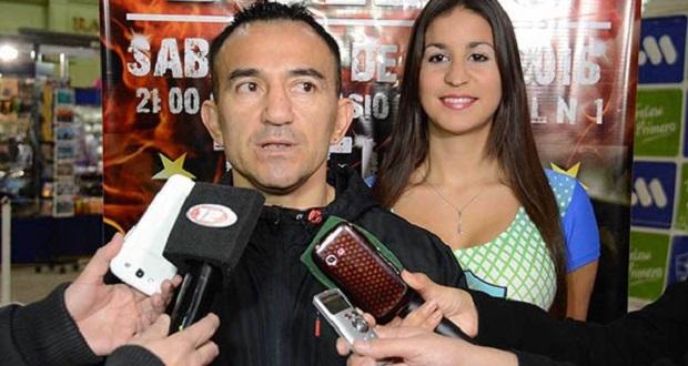 Omar Narváez volverá a pelear