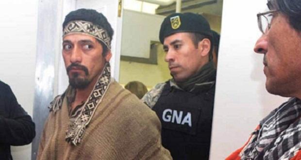 Jones Huala el 16 de agosto será el juicio por su extradición a Chile