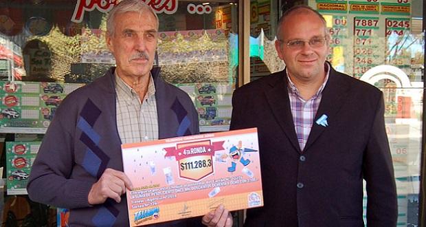 Lotería sigue entregando premios del Telebingo