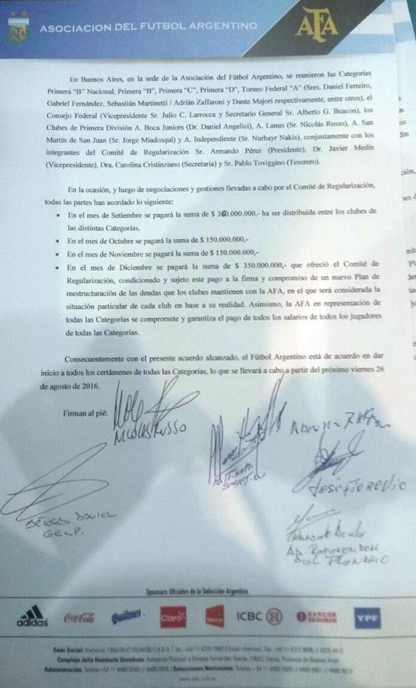 nota firmada