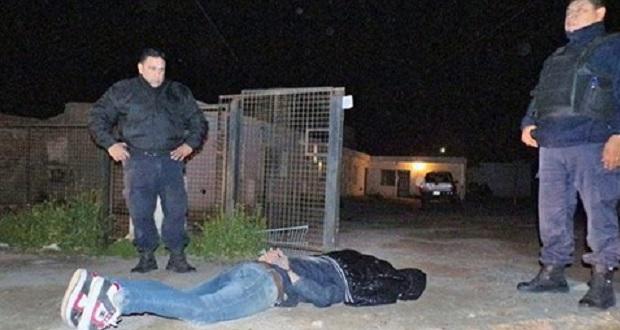 Ladrón fue apresado por la policía después de robar