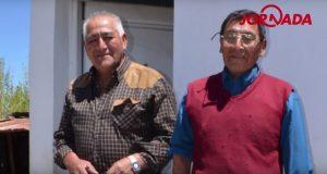 Genaro Nahuelquir y Rudecindo Calfupán