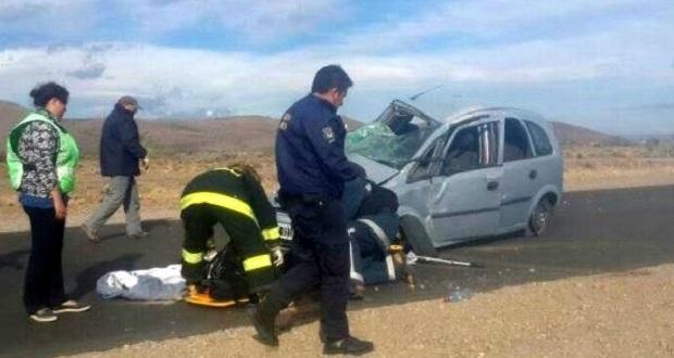 Murió una joven de Comodoro en un accidente en la Ruta 40