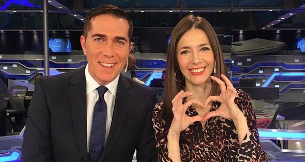 Rodolfo Barili y Cristina Pérez: de pareja de noticiero a